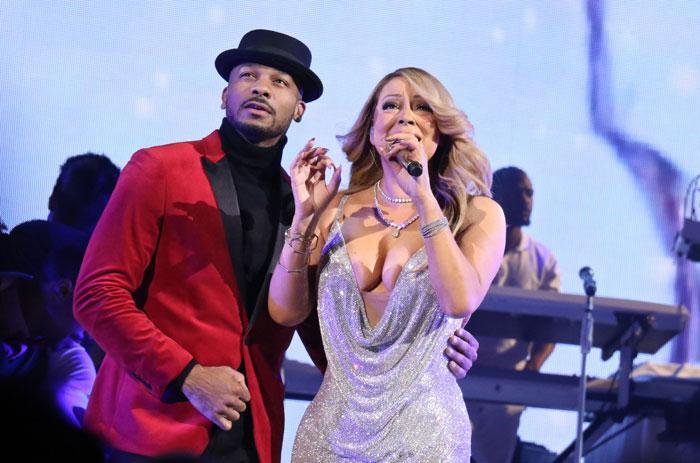 Mariah Carey ja Antony Burrell