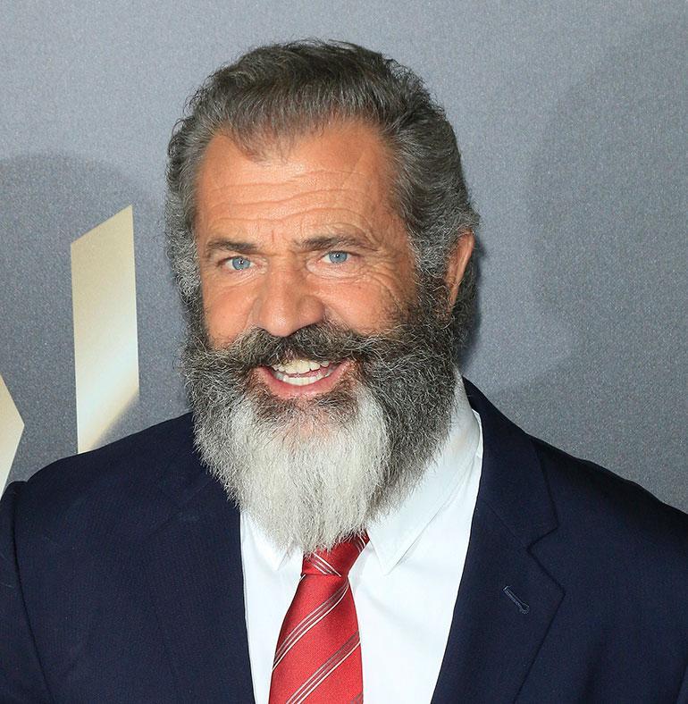 Mel Gibson punaisella matolla