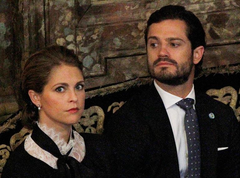 Prinsessa Madeleine ja prinssi Carl Philip