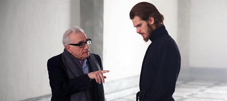 Martin Scorsese Andrew Garfield