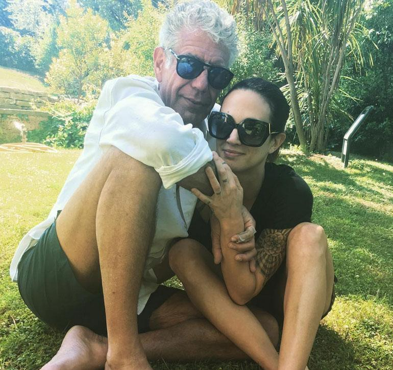 Anthony Bourdain ja Asia Argento