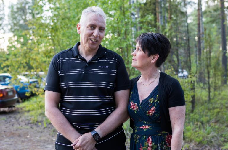 Pauli Ottman ja Pirjo Sorsa