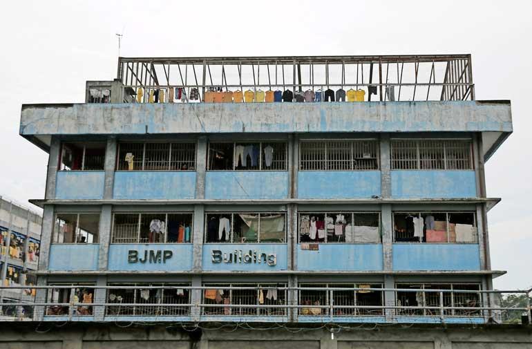 Vankila, jossa Maria Mustonen on.