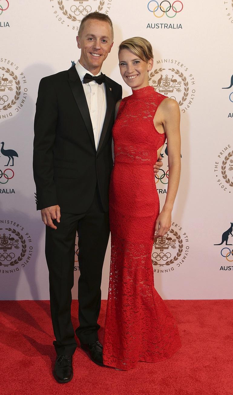 Claire ja Jared Tallent.