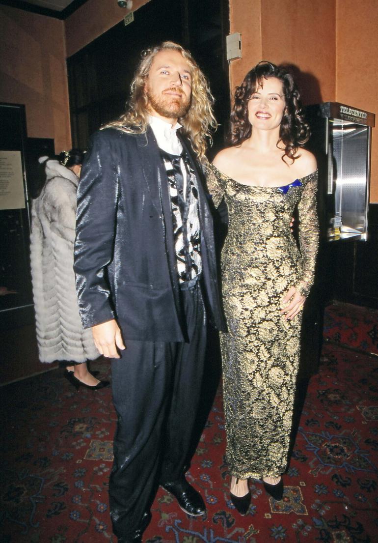 Renny ja Geena Kaivohuoneella 1993.