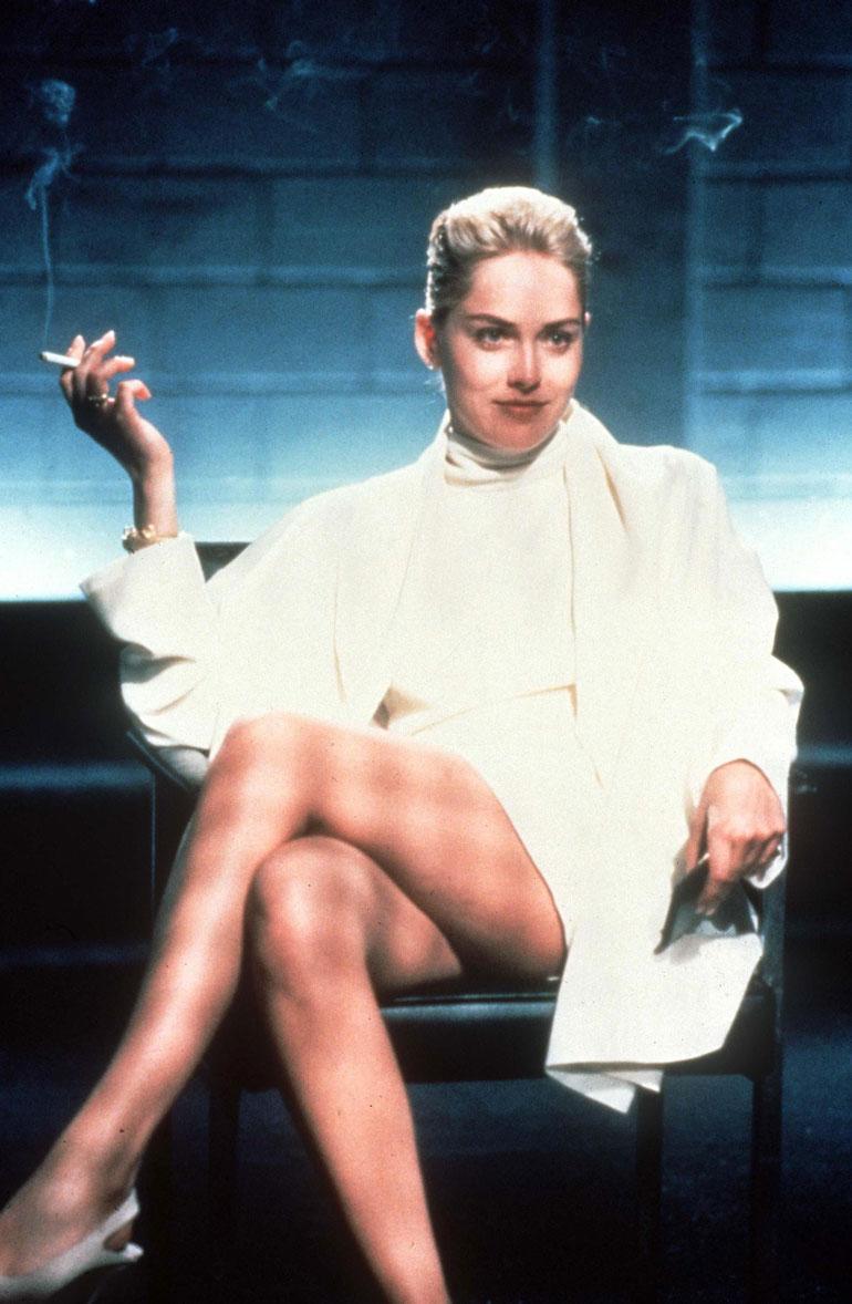 Basic Instinct -elokuvan kuulustelukohtaus jäi elokuvahistoriaan.