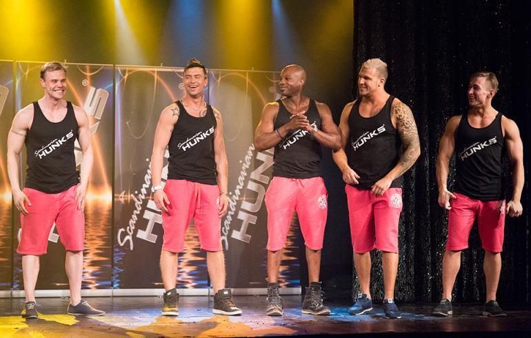 Huh, mitä lihaskimppuja: Tässä ovat uudet kuumat Hunks-tanssijat!