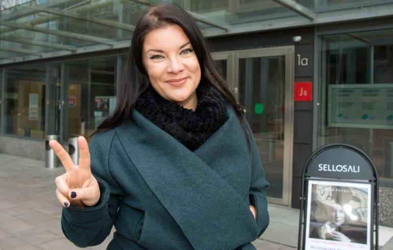 Hanna Pakarinen tsemppaa Saara Aaltoa: Maailman siisteintä!