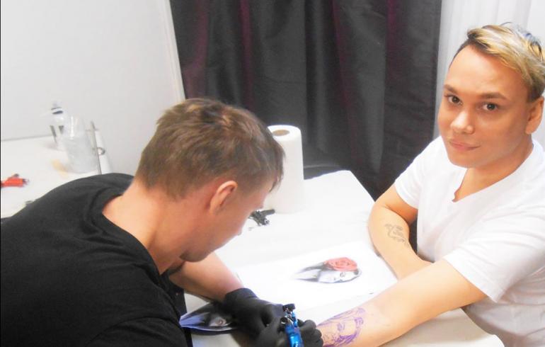Huh, mikä tatuointi! Tosi-tv-kasvo hakkautti Saara Aallon ihoonsa – kuva!