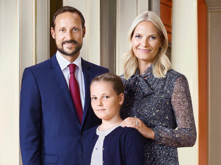 Norjan kruununprinssipari Haakonin ja Mette-Maritin esikoistyttärestä, prinsessa Ingridistä tulee tammikuussa teini-ikäinen, kun neiti täyttää 13 vuotta.