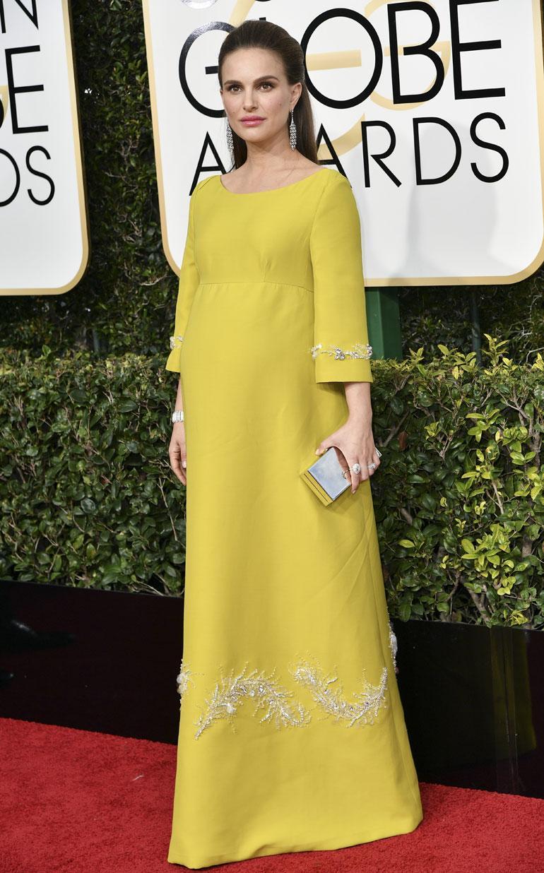 Diorin keulakuvana nähty Oscar-voittaja Natalie Portman luotti tällä kertaa Pradaan ja Tiffanyn jalokiviin.