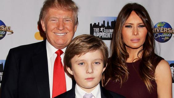 Donald, Melania ja Barron Trumpin Floridan-koti