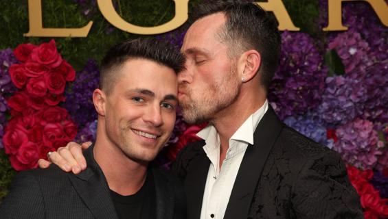 Colton Haynes ja Jeff Leatham