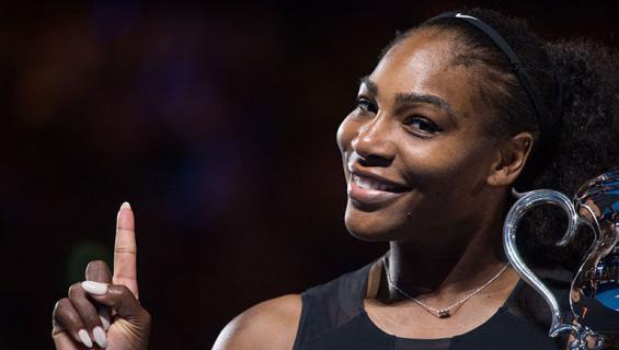 Serena Williams tennisturnauksessa