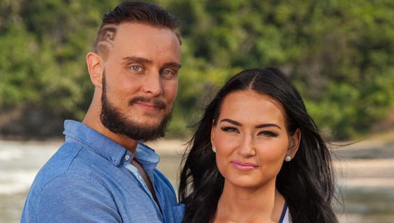 Jonne ja Sonja TISuomi-saarella.