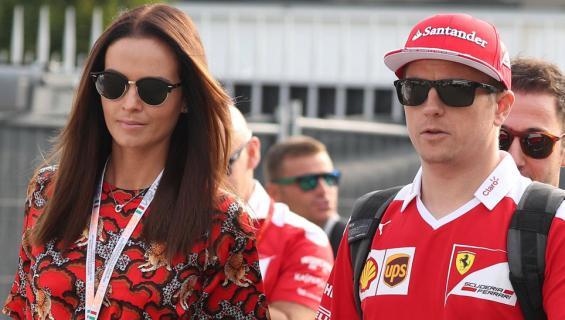 Minttu ja Kimi Räikkönen
