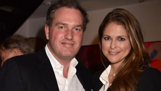 Chris O'Neill ja Ruotsin prinsessa Madeleine
