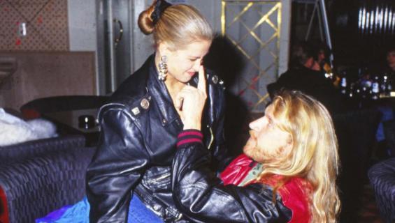 Tarja Smura ja Renny Harlin vuonna 1993.