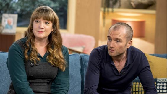 Sophie Tanner ja Ruari Barrat nähtiin This Morning-ohjelmassa.