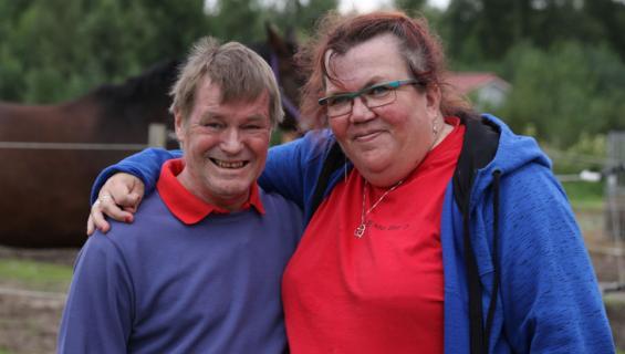 Aimo ja Jaana Kielletty rakkaus -ohjelmassa