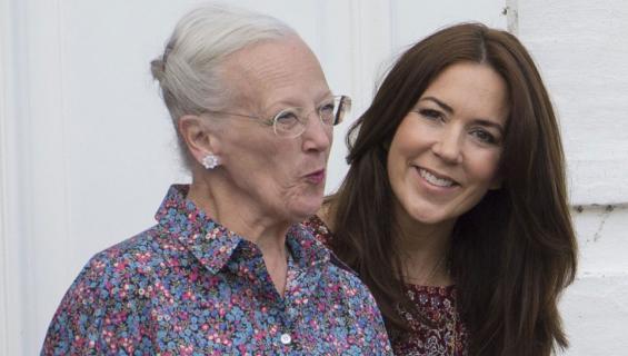 Tanskan kuningatar Margareeta ja kruununprinsessa Mary