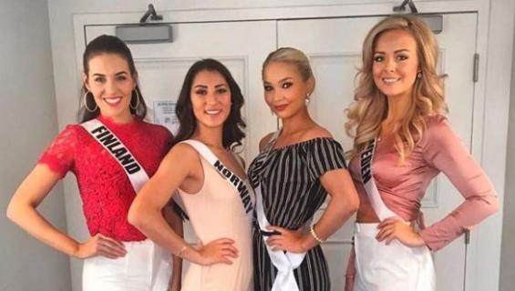 Miss Universum -kisan pohjoismaiset missit.