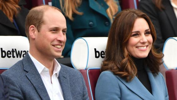 William ja Catherine odottavat kolmatta lastaan.