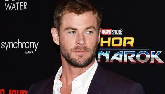Chris Hemsworth kertoo perhe-elämästä.