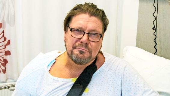 Henry Saari joutui leikkaukseen.