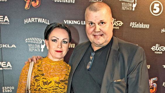 Timo Jutila ja vaimo.