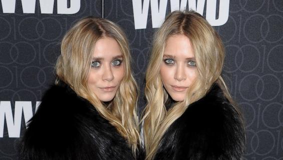 Ashley ja Mary-Kate Olsen ovat identtiset kaksoset.