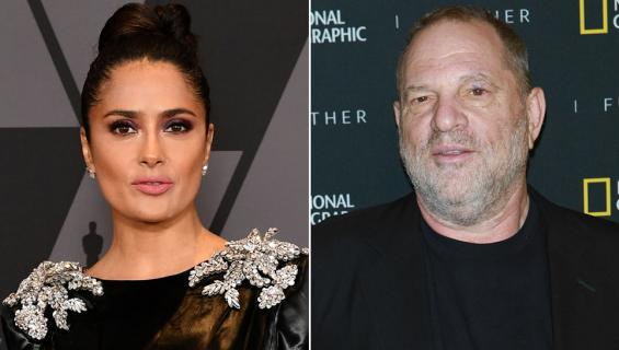 Salma Hayek ja Harvey Weinstein