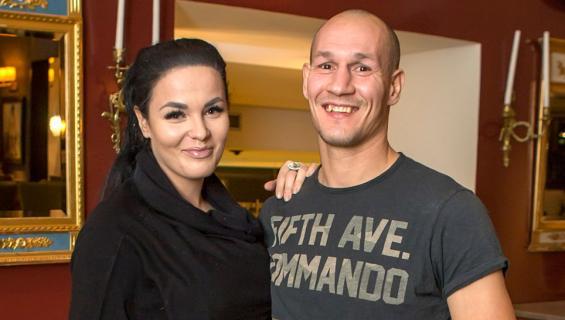 Nadia Ammouri ja Amin Asikainen