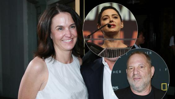 Jill Messick, Rose McGowan ja Harvey Weinstein