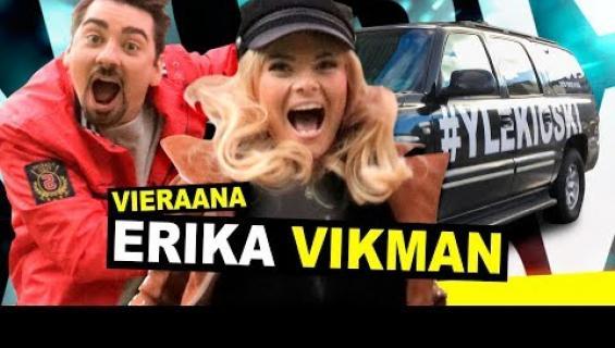 """Erika Vikman avautuu Dannyn, 75, pikaviestittelystä: """"Sori!"""""""
