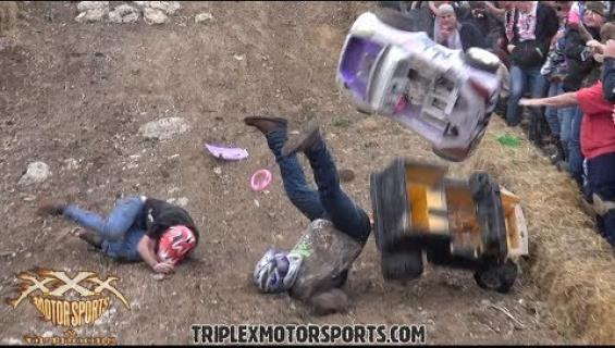 Barbie Jeep -alamäkiajo on kaikkien aikojen paras extreme-laji - katso video!