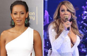 Mel B ja Mariah Carey