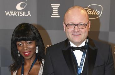 Tapio Suominen ja Evelyn