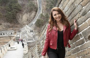Shirly Kiinan muurilla