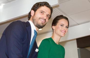 Ruotsin prinssi Carl Philip ja prinsessa Sofia