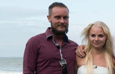 Jonne ja Erika Temptation Islandilla