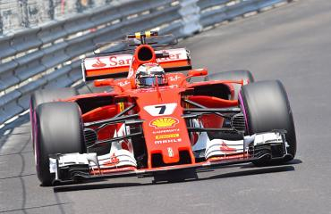 Kimi Räikkönen Monacon GP:ssä.