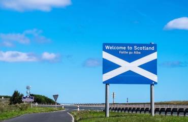 Iäkäs englantilaisnainen päätyi vahingossa Skotlantiin.