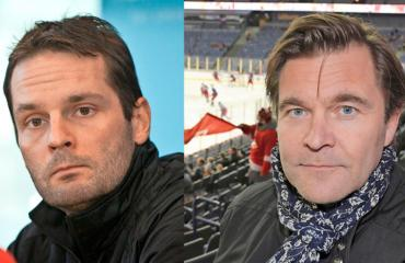 Niklas Bäckström ja Peter Ahola