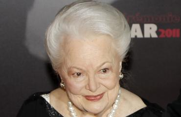 Näyttelijä Olivia de Havilland