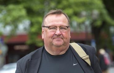 Mikko Kivinen oli mukana SuomiAreenassa.
