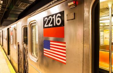 New Yorkin metroja ei tunneta puhtaudestaan.
