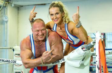 Timo ja Anki Honkala ovat alkuperäisiä gladiaattoreita.