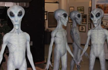 Roswellin museossakin on avaruusolentoja.