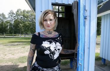 Sanna Rönnberg on muuttunut nainen.